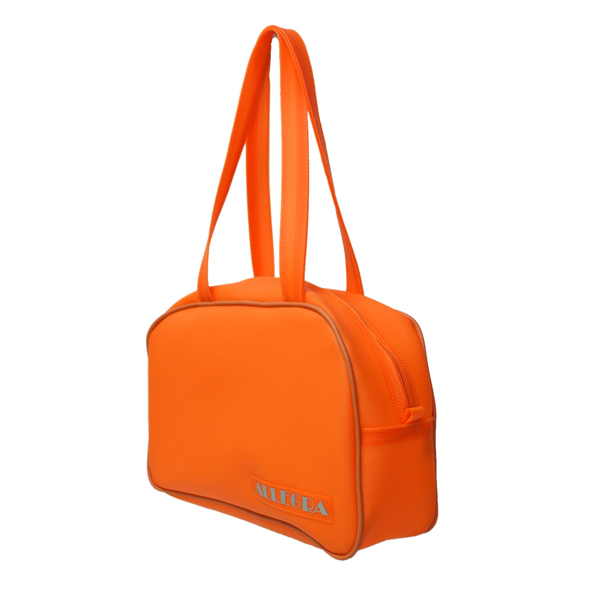 Bolsa esportiva laranja de praia