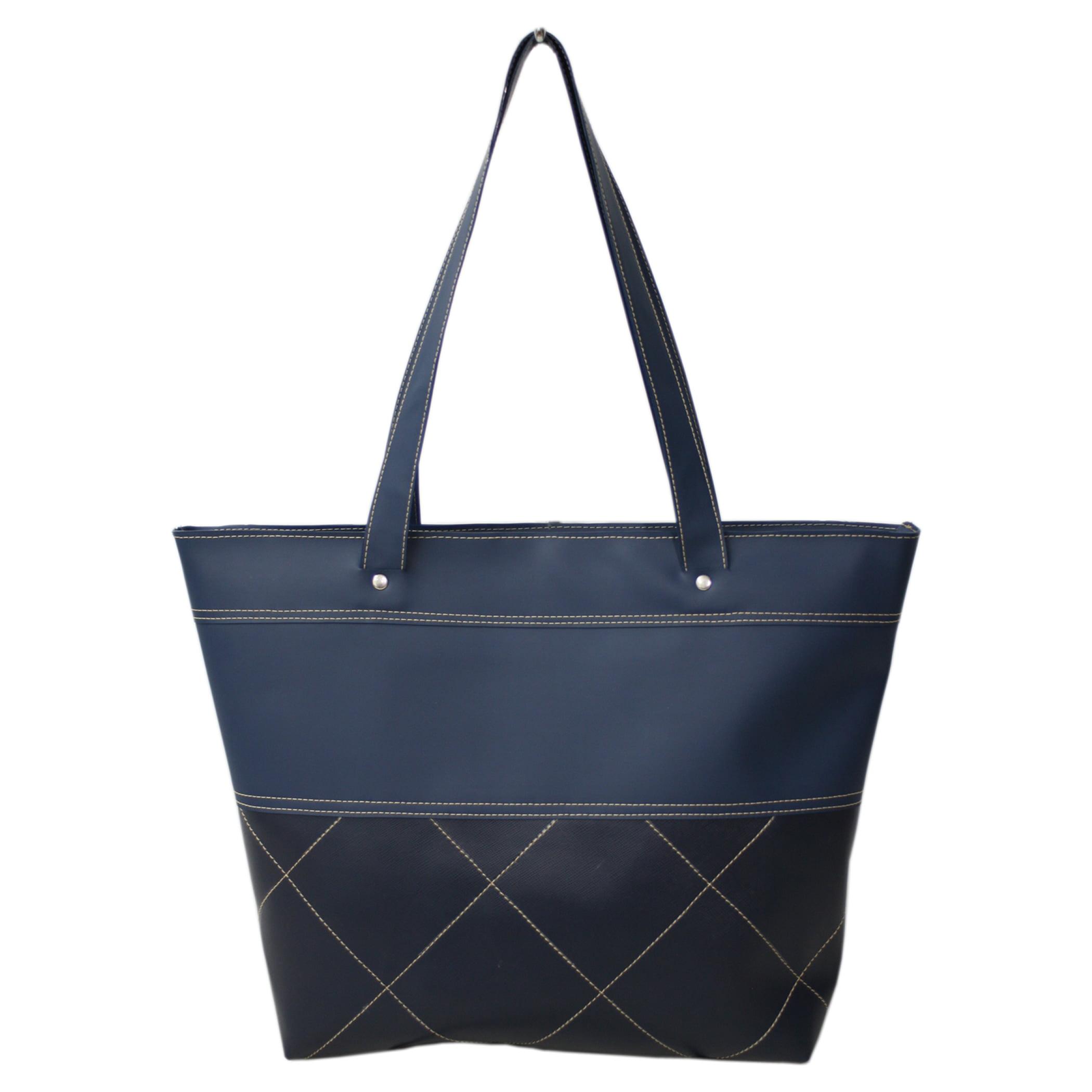 Bolsa sacola casual azul sechetto