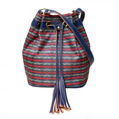 Bolsa saquinho azul
