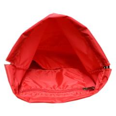 mochila saco Esportiva vermelha