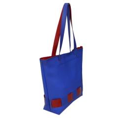 Bolsa de praia azul e vermelha Sitonia